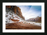 Zion National Park  Picture Frame print
