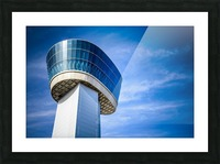 Airport Traffic Control Tower Picture Frame print