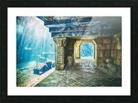 Atlantis Aquarium  Picture Frame print