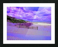 Nauset Beach Cape Cod Massachusetts Picture Frame print