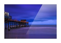 Pier at Dawn Picture Frame print
