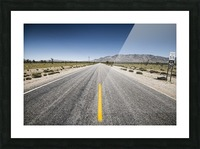 Arizona Road Picture Frame print