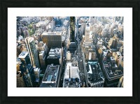 New York city Skyline View  Picture Frame print