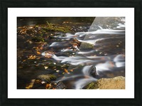 River Flow in Smokey Mountains Picture Frame print