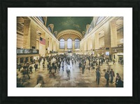 Grand Central Station Picture Frame print