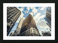 New York Sky Picture Frame print
