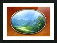 Landscape12 Picture Frame print