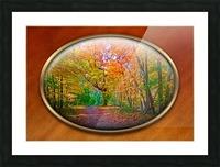 Landscape 15 Picture Frame print