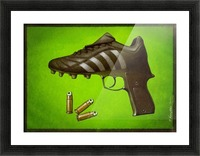 Soccer  Picture Frame print
