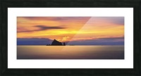Olympic Sunset 2 Picture Frame print