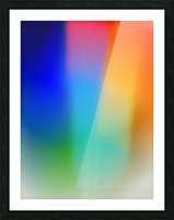 Aura Picture Frame print