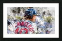 ANDREW BENINTENDI Water Color Print - Boston Red Sox Print Picture Frame print
