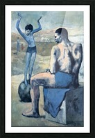 Pablo Picasso. Girl on the Ball HD 300ppi Picture Frame print