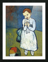 Pablo Piccaso. Child with Dove HD 300ppi Picture Frame print