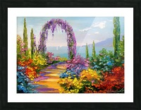 Road in colors  Picture Frame print