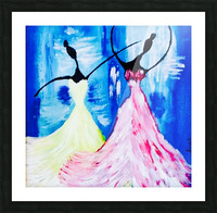 lets Dance  Picture Frame print
