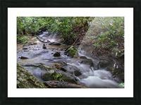 Zen Stones Picture Frame print