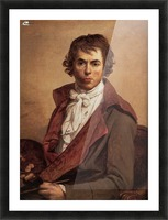 David Self Portrait Picture Frame print