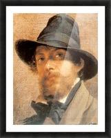 Self-portrait Picture Frame print