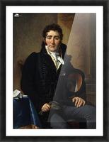 Portrait of Greve Picture Frame print
