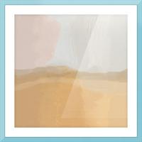 Misty Landscape Picture Frame print