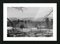 White Mountains - New Hampshire Picture Frame print
