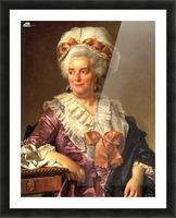 Portrait of Genevieve Jacqueline Pecoul Picture Frame print