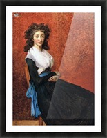 Portrait of madame charles louis trudaine 1792 Picture Frame print