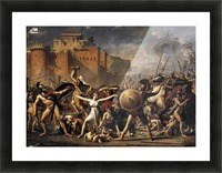 The Sabine Women Picture Frame print