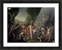 Leonidas at Thermopylae Picture Frame print