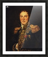 Portrait of Meunier Picture Frame print