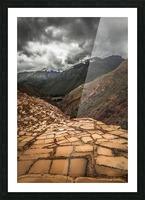 Maras Salt Mines Picture Frame print