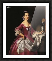 Mrs.George Watson Picture Frame print