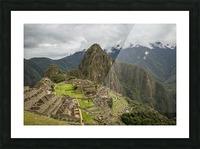 Machu Picchu Picture Frame print