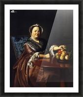 Mrs.Ezekiel Picture Frame print
