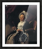 Mrs Seymour Fort Picture Frame print