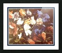 Brilliant Floral Display Impression et Cadre photo