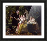 Sir William Pepperrell and His Family Picture Frame print