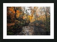 Smokey Mountain River Picture Frame print