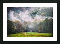 Smokey Mountain  Picture Frame print