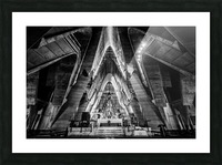 Cathedral Picture Frame print
