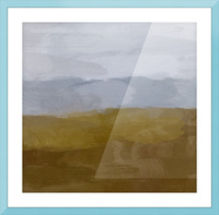 Yellow Hills Picture Frame print