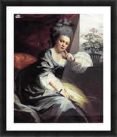 Mrs. Clark Gayton Picture Frame print