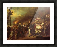 The Victory of Lord Duncan Picture Frame print