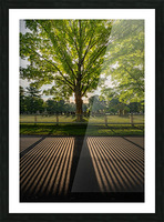 Sunrise in Dunstable Picture Frame print