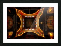 Heavenly View - Trinity Church Picture Frame print
