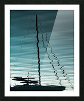 Sailboat Ripples Picture Frame print