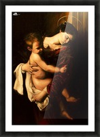 Virgin Mary and Child Picture Frame print
