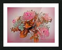 Pink Springtime Morning Picture Frame print