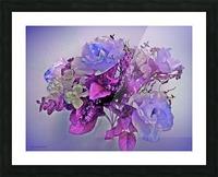 Mauve Springtime Morning Picture Frame print